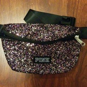 Pink glitter Fannie pack